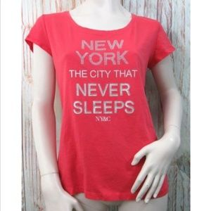 New York & Company Medium Rhinestones Shirt